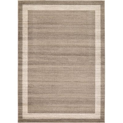 Christi Brown/Beige Area Rug Rug Size: Rectangle 33 x 53