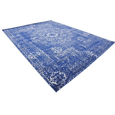 Ove Blue Area Rug Rug Size: Rectangle 9' x 12'
