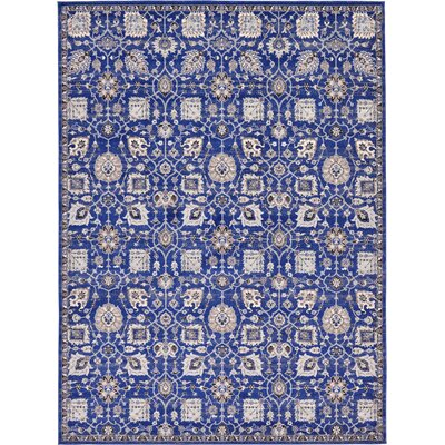 Drumsill Blue Area Rug Rug Size: 9 x 12