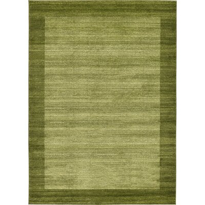 Napoli Green Area Rug Rug Size: Rectangle 8 x 114