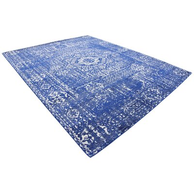 Ove Blue Area Rug Rug Size: Rectangle 8' x 10'