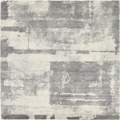Luxton Ivory Area Rug Rug Size: Square 84