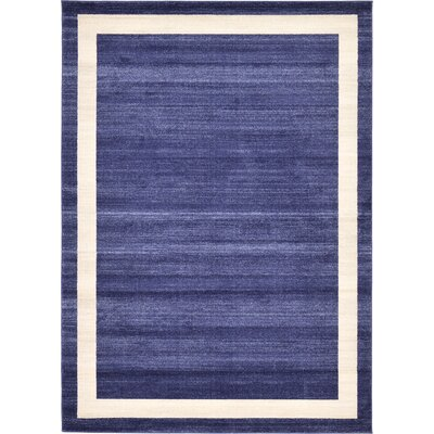 Christi Blue/Beige Area Rug Rug Size: 6 x 9