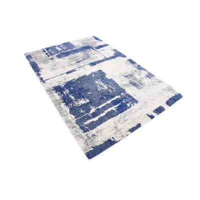 Madill Navy Blue Area Rug Rug Size: Rectangle 4 x 6