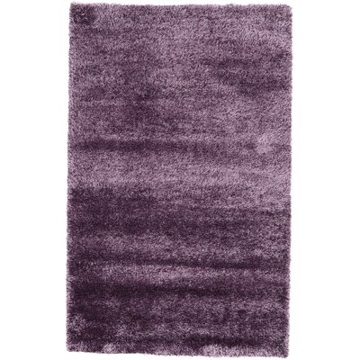 Evelyn Fig Purple Area Rug Rug Size: 5 x 8