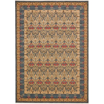 Fonciere Navy Blue Area Rug Rug Size: Rectangle 13 x 18