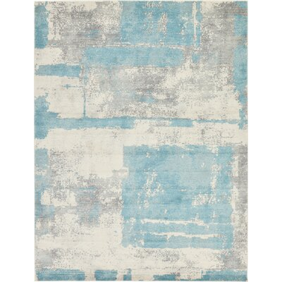 Dillsburg Ivory Area Rug Rug Size: Rectangle 9 x 12