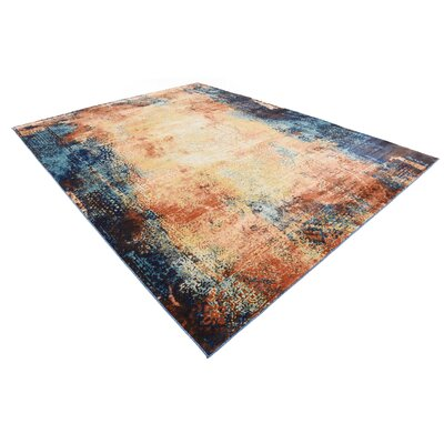Jani Brick Red Area Rug Rug Size: 9 x 12