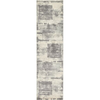 Luxton Ivory Area Rug Rug Size: Runner 27 x 10