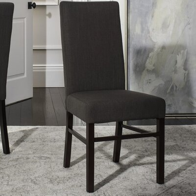 Remick Parsons Chair Finish: Charcoal Brown