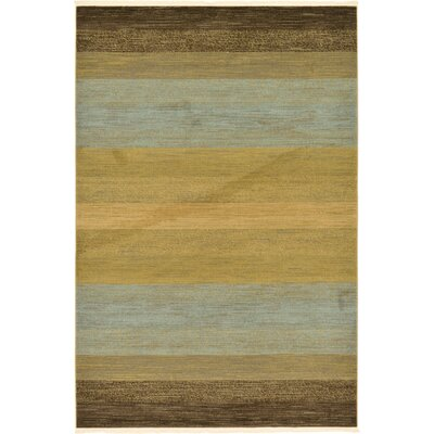 Simsbury Brown Area Rug Rug Size: Rectangle 6 x 9