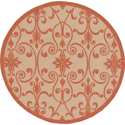 Staffordshire Beige Indoor/Outdoor Area Rug Rug Size: 5 x 8