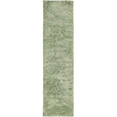 Easterling Green Area Rug Rug Size: Rectangle 10' x 2'6