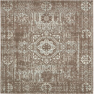 Narelle Light Brown Area Rug Rug Size: Square 84