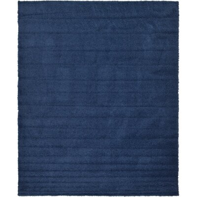 Falmouth Navy Blue Area Rug Rug Size: Rectangle 12 x 15