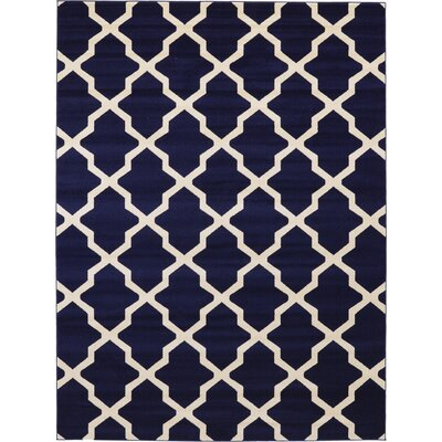 Moore Blue Area Rug Rug Size: 9 x 12