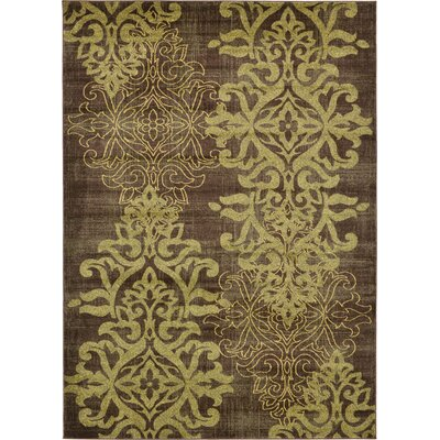 Rodney Brown Area Rug Size: 7 x 10