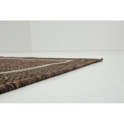 Erhardt Brown Outdoor Area Rug Rug Size: 5 x 8