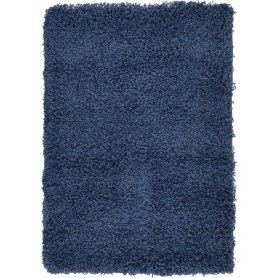 Falmouth Navy Blue Area Rug Rug Size: Rectangle 22 x 3