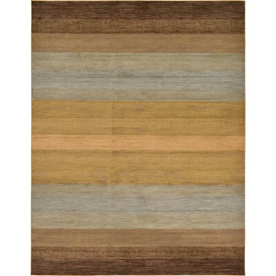 Simsbury Brown Area Rug Rug Size: 10 x 13