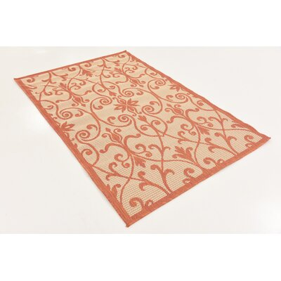 Staffordshire Beige Indoor/Outdoor Area Rug Rug Size: Rectangle 8 x 11