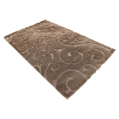 Billings Floral Brown Area Rug Rug Size: Rectangle 5 x 8