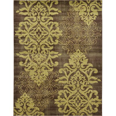 Rodney Brown Area Rug Size: Rectangle 5 x 8