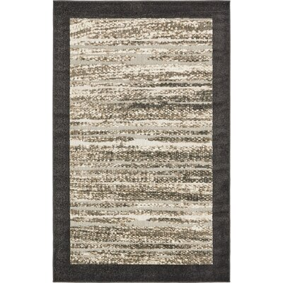 Leiters Beige Indoor/Outdoor Area Rug Rug Size: 5 x 8
