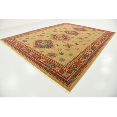 Valley Beige Area Rug Rug Size: 106 x 165