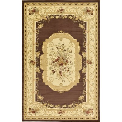Oskar Beige Area Rug Rug Size: Rectangle 106 x 165