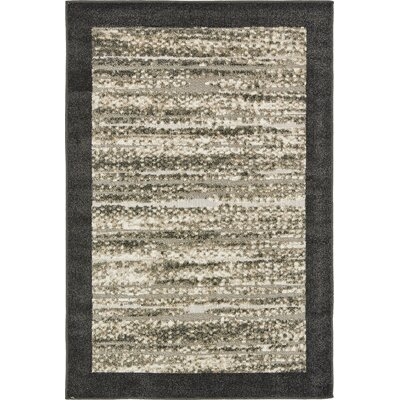 Konrad Beige Indoor/Outdoor Area Rug Rug Size: Rectangle 4 x 6