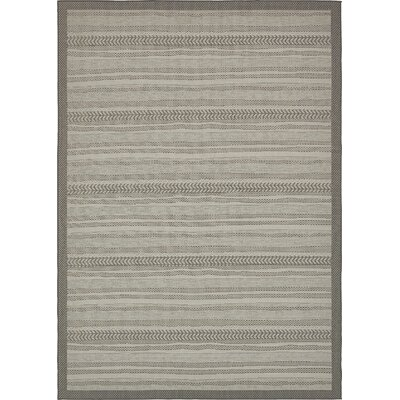Antoine Gray Outdoor Area Rug Rug Size: Rectangle 8 x 114