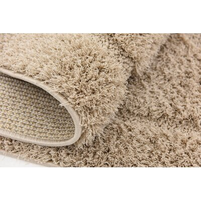 Catherine Machine Woven Beige Area Rug Rug Size: Rectangle 4 x 6