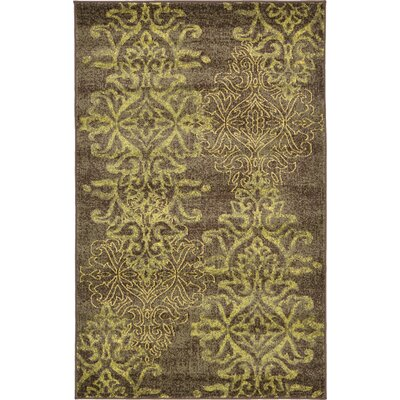 Rodney Brown Area Rug Size: 33 x 53