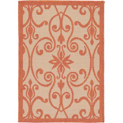 Staffordshire Beige Indoor/Outdoor Area Rug Rug Size: Rectangle 22 x 3