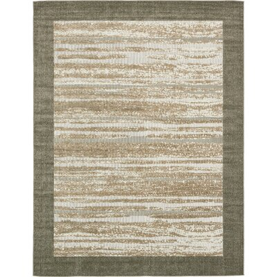 Loretta Brown Indoor/Outdoor Area Rug Rug Size: Rectangle 9 x 12
