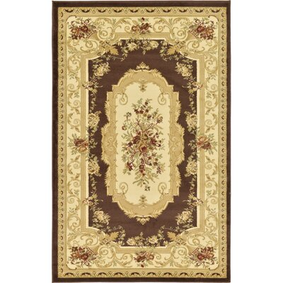 Oskar Beige Area Rug Rug Size: Rectangle 5 x 8