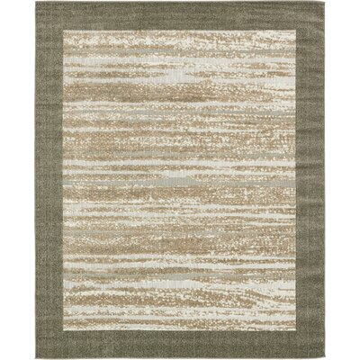 Loretta Brown Indoor/Outdoor Area Rug Rug Size: 8 x 10
