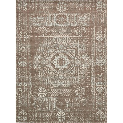 Narelle Light Brown Area Rug Rug Size: Rectangle 9 x 12