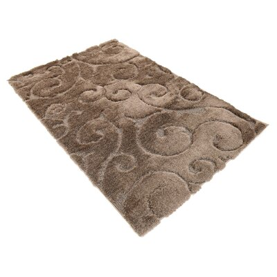 Billings Floral Brown Area Rug Rug Size: Rectangle 4 x 6