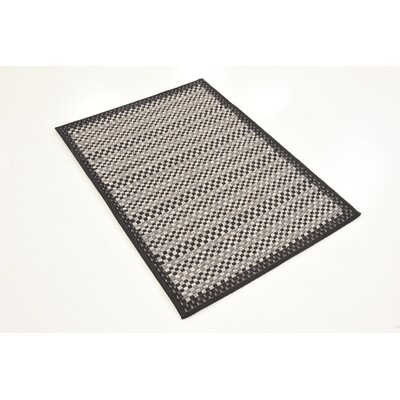 Dakota Gray Outdoor Area Rug Rug Size: 4 x 6