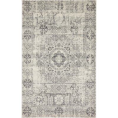 Marelle Beige Area Rug Rug Size: Rectangle 5 x 8