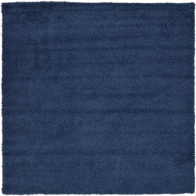 Falmouth Navy Blue Area Rug Rug Size: Square 82