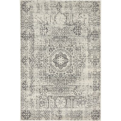 Marelle Beige Area Rug Rug Size: Rectangle 4 x 6
