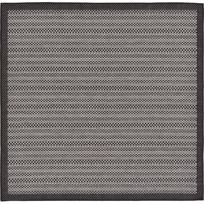 Dakota Gray Outdoor Area Rug Rug Size: Square 6