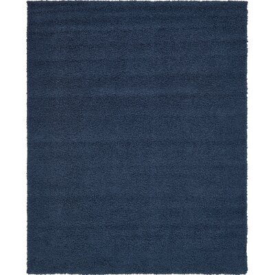 Falmouth Navy Blue Area Rug Rug Size: Rectangle 8 x 10