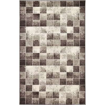 Silverheels Light Brown Area Rug Rug Size: 5 x 8