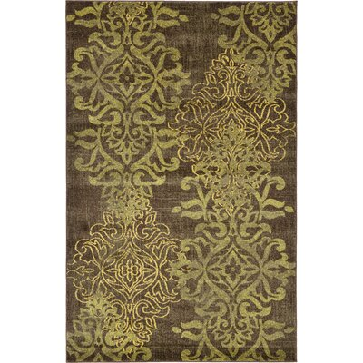 Rodney Brown Area Rug Size: 5 x 8