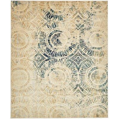Jani Traditional Beige Area Rug Rug Size: Rectangle 8 x 10