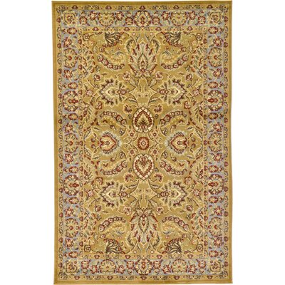 Fairmount Tan Area Rug Rug Size: 5 x 8